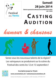 Affiche Castings