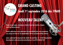 Castings nouveau talent